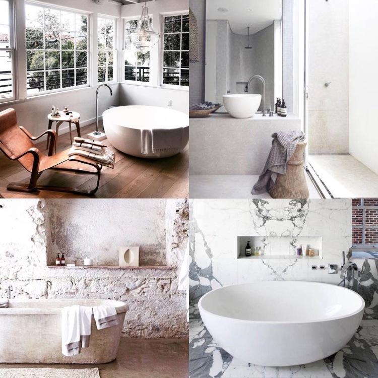 Dreamy bathroom 1